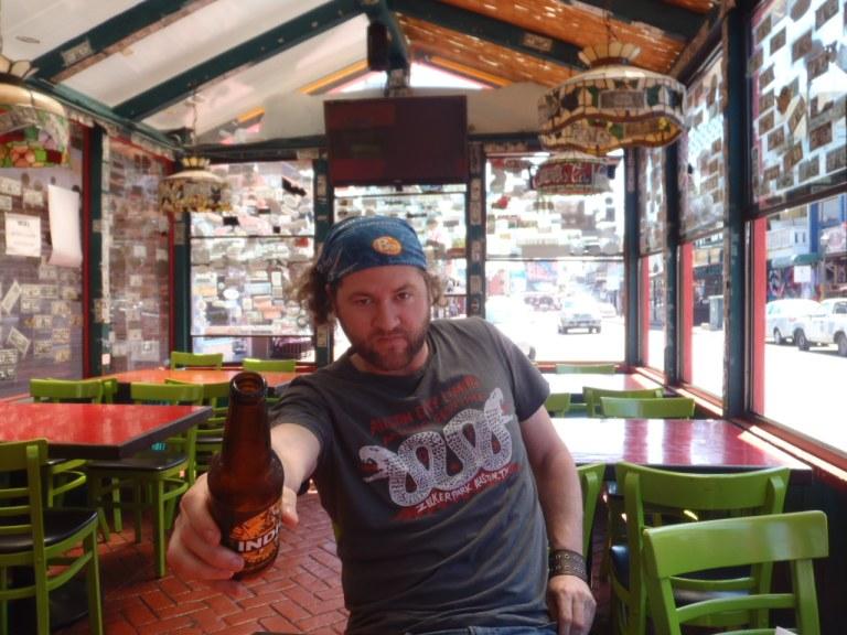 Murphy in Ensenada