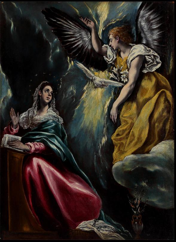 Annunciation, El Greco