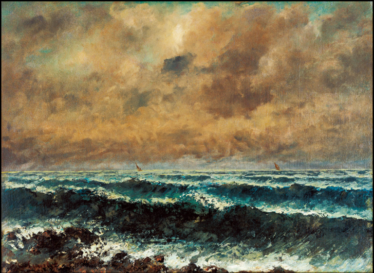 Autumn Sea, Gustave Courbet